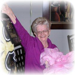 "Mona ""Mrs H."" Hrdlicka, age 85"